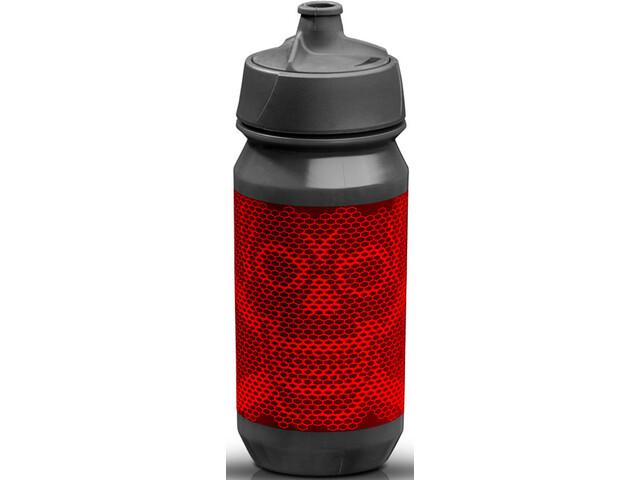 rie:sel design bot:tle 500ml skull honeycomb red